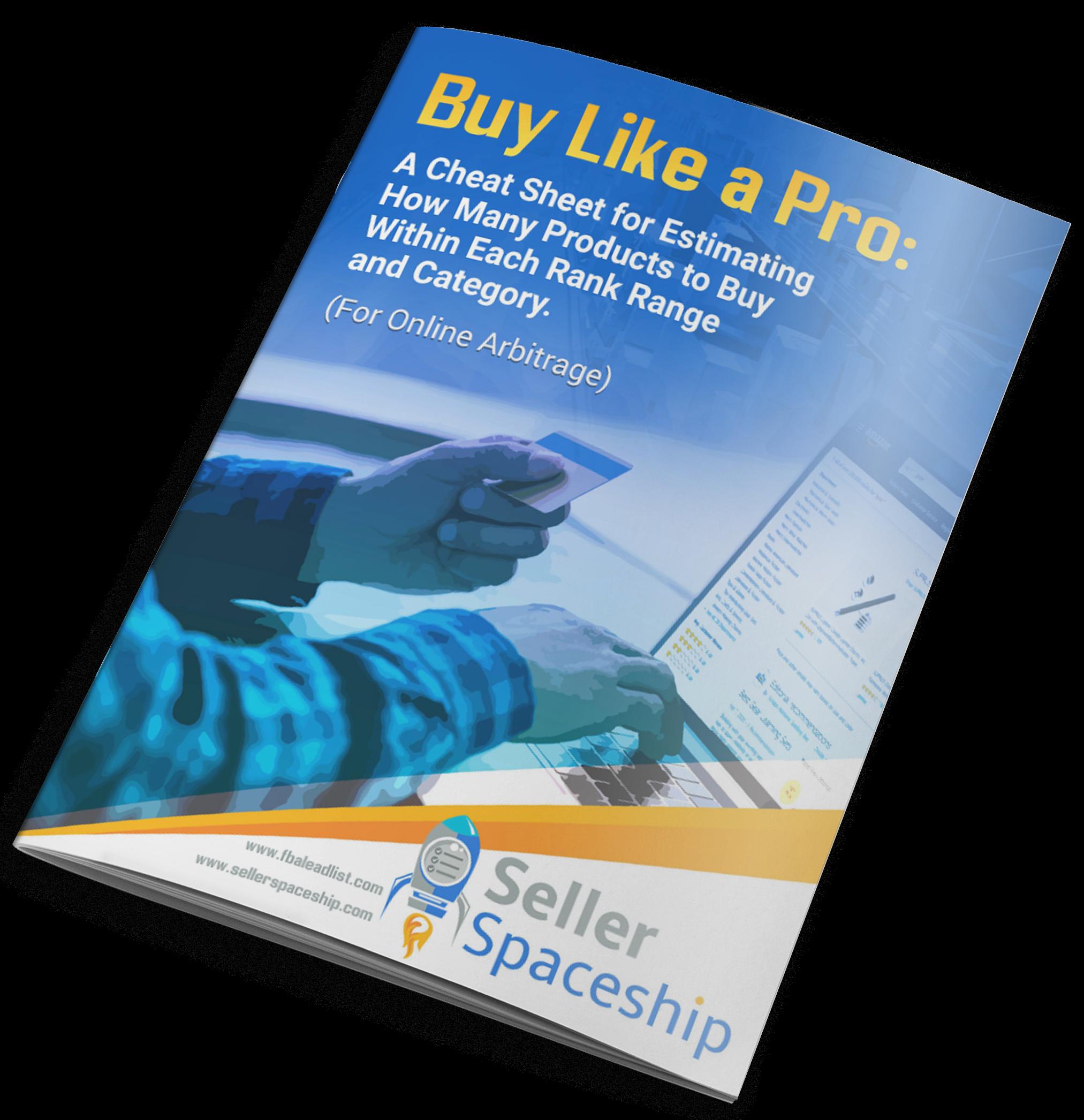 Buy Like a Pro - Online Arbitrage - Sellerspaceship.com