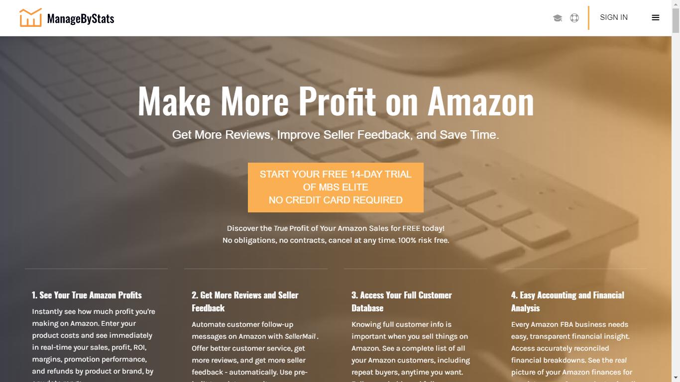 ManageByStats Review: Best Amazon Inventory Management Software - Seller Spaceship