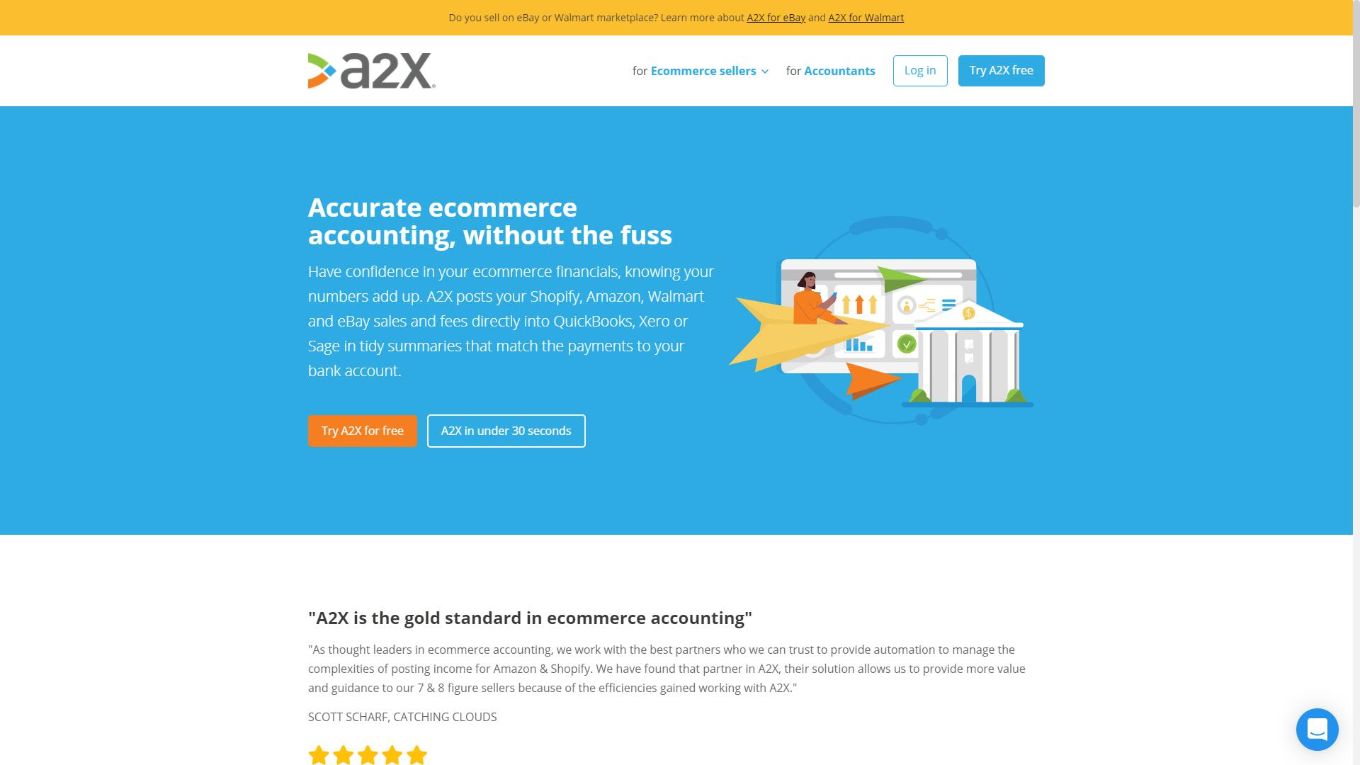 A2X for Amazon - Seller Spaceship